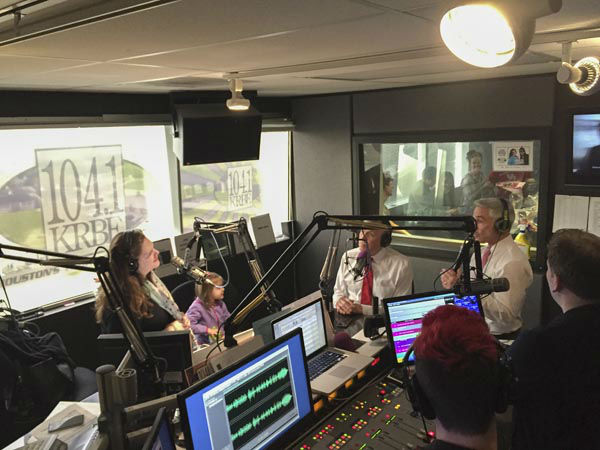 """<div class=""""meta image-caption""""><div class=""""origin-logo origin-image none""""><span>none</span></div><span class=""""caption-text"""">Listen to Don Nelson and Tom Koch from their appearance on 104.1 KRBE's 'Roula & Ryan Show' this morning. (KTRK Photo)</span></div>"""