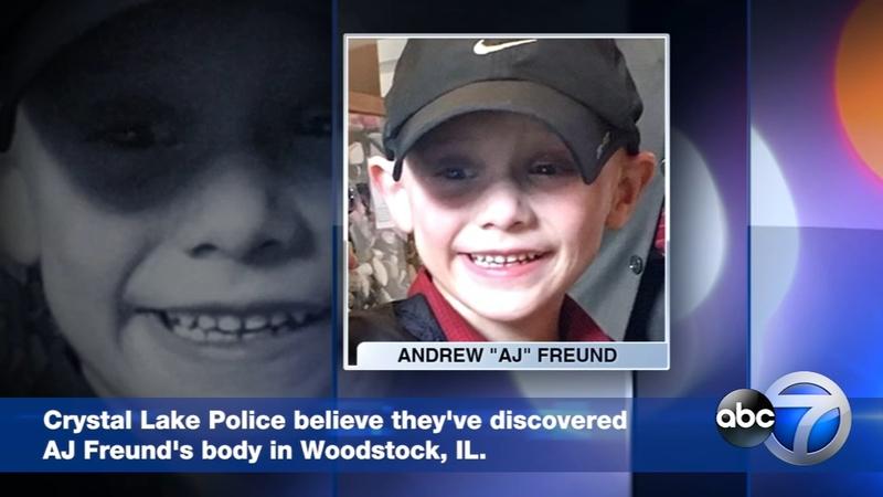 AJ Freund, Crystal Lake boy missing 6 days, body found