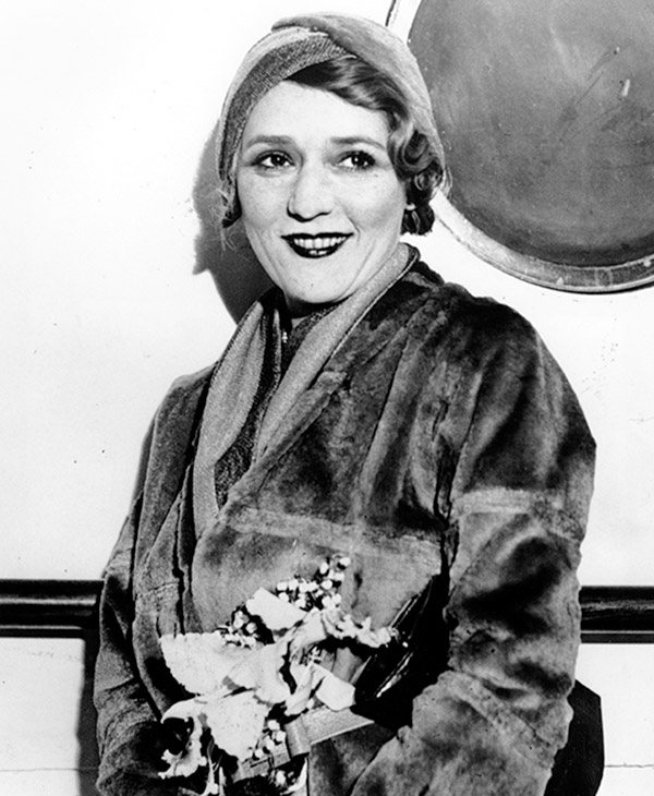 <div class='meta'><div class='origin-logo' data-origin='AP'></div><span class='caption-text' data-credit=''>Actress Mary Pickford is photographed aboard a ship in New York City. on May 13, 1931.</span></div>
