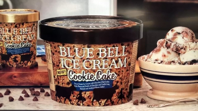 Blue Bell Releases Cookie Cake Ice Cream For Limited Time