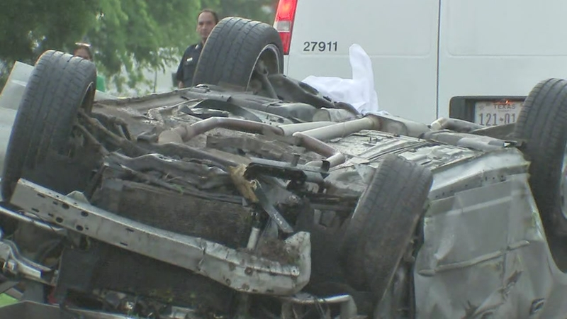 Driver allegedly fell asleep at the wheel in rollover crash that killed 2  in NE Houston