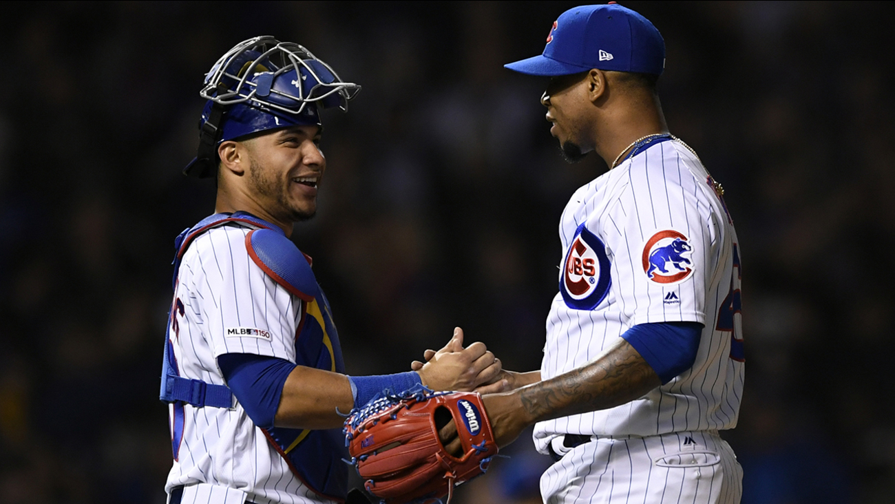 newest f0c03 937f1 Pedro Strop records save in Cubs win hours after car stolen ...