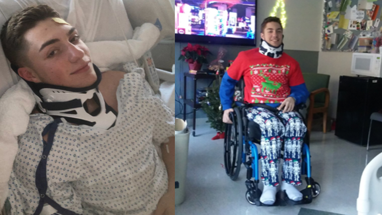 Staten Island teenager who suffered paralyzing polar plunge injury ...