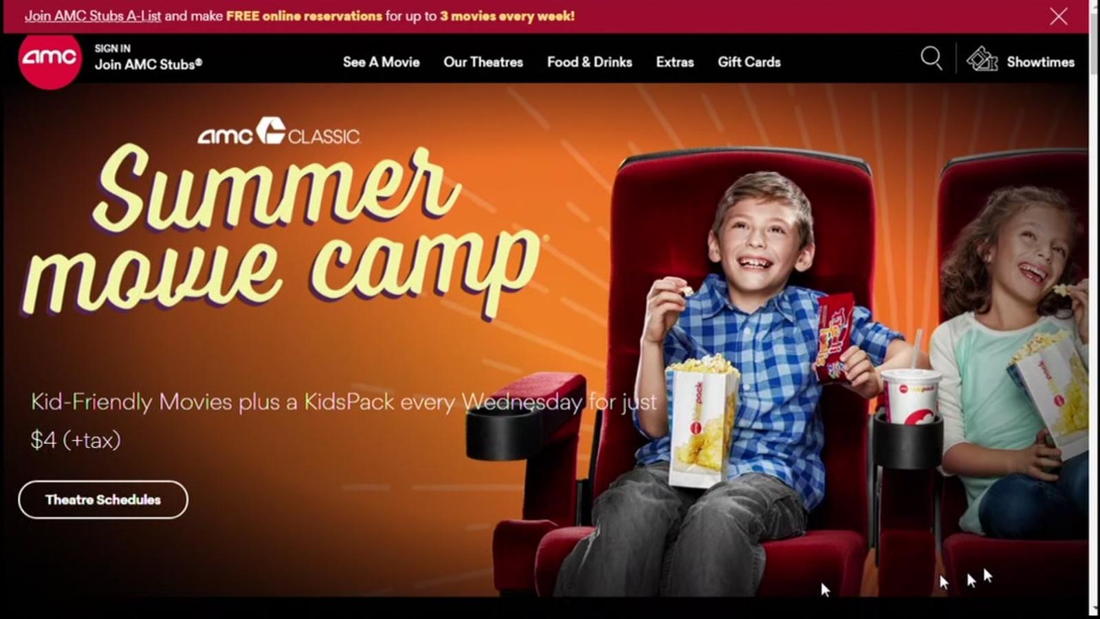 amc camp hill movie times