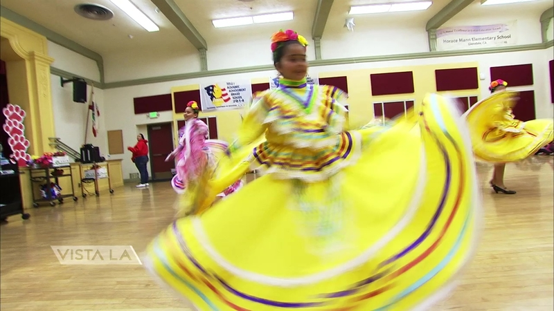 Children embrace folklorico's beauty