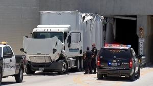 Truck crash | abc13 com