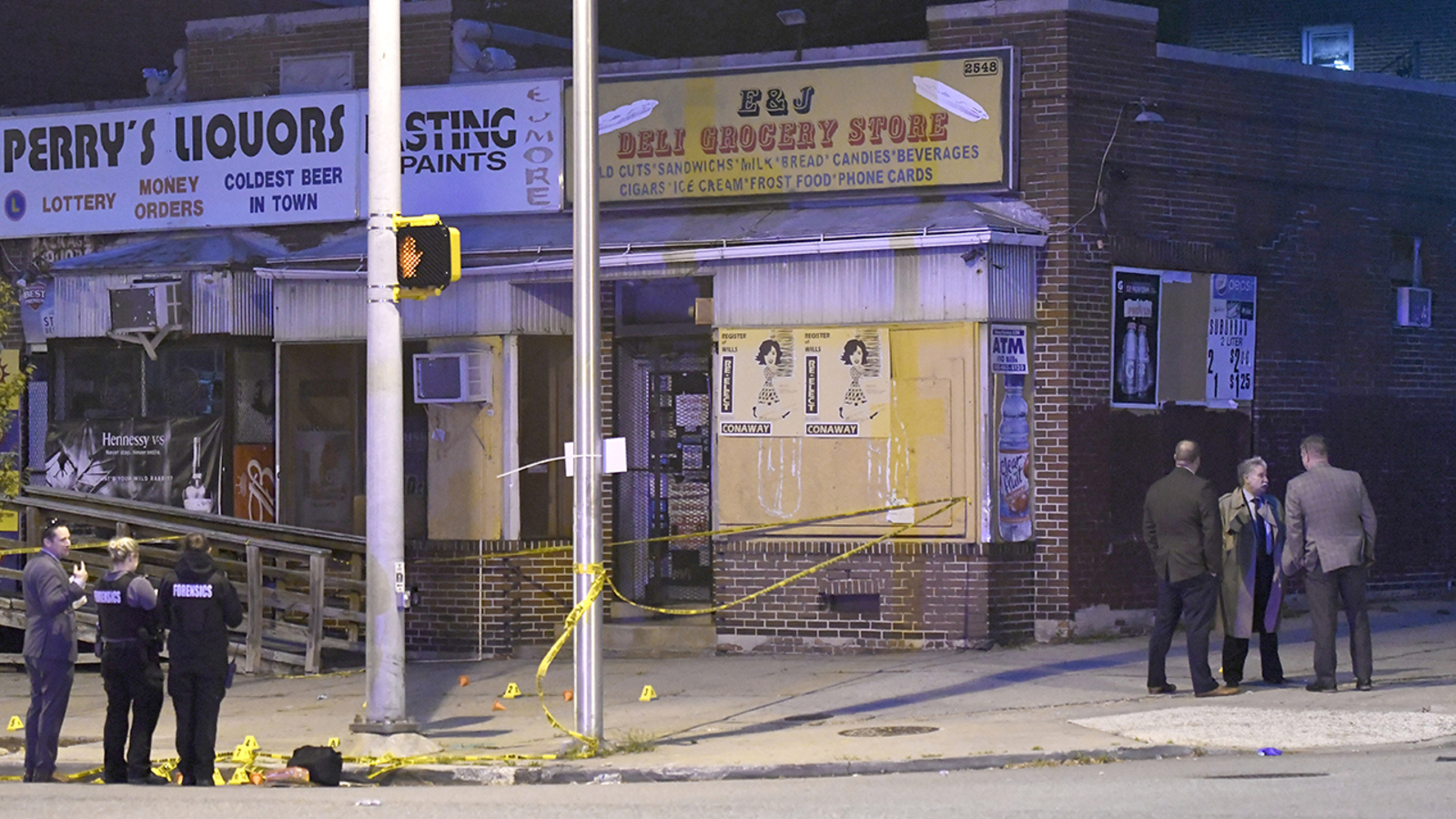Baltimore Cookout Shooting Man Collapses And Dies Behind Church 7