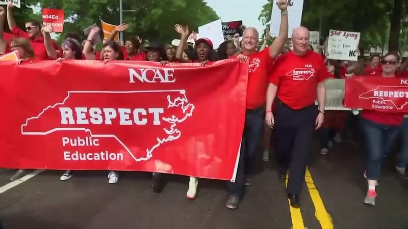 NC teacher rally 2019: Street closures in Raleigh ahead of massive rally