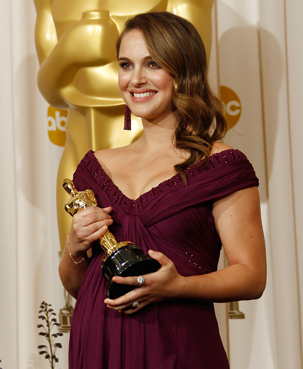 <div class='meta'><div class='origin-logo' data-origin='AP'></div><span class='caption-text' data-credit=''>Natalie Portman poses backstage with the Oscar for best performance by an actress in a leading role for &#34;Black Swan&#34; at the 83rd Academy Awards on Sunday, Feb. 27, 2011.</span></div>