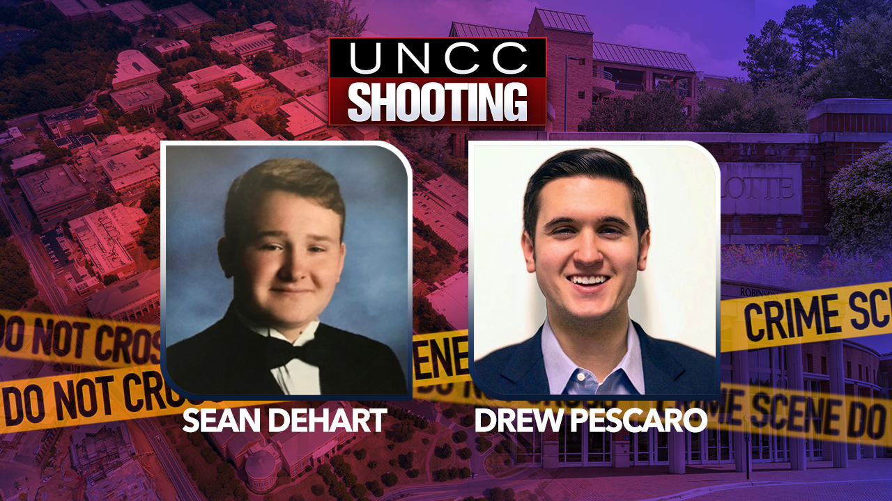 d00b1513 UNC Charlotte campus shooting: Chancellor identifies 2 students who ...