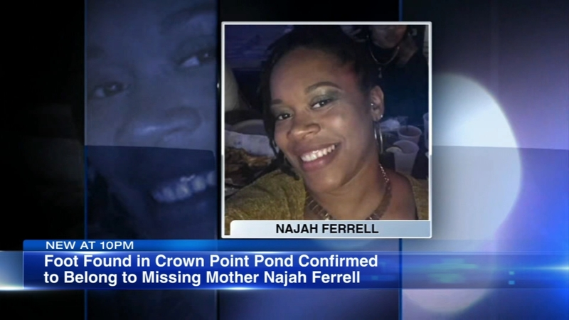 Human foot found in Crown Point pond confirmed to belong to missing  Indianapolis area woman