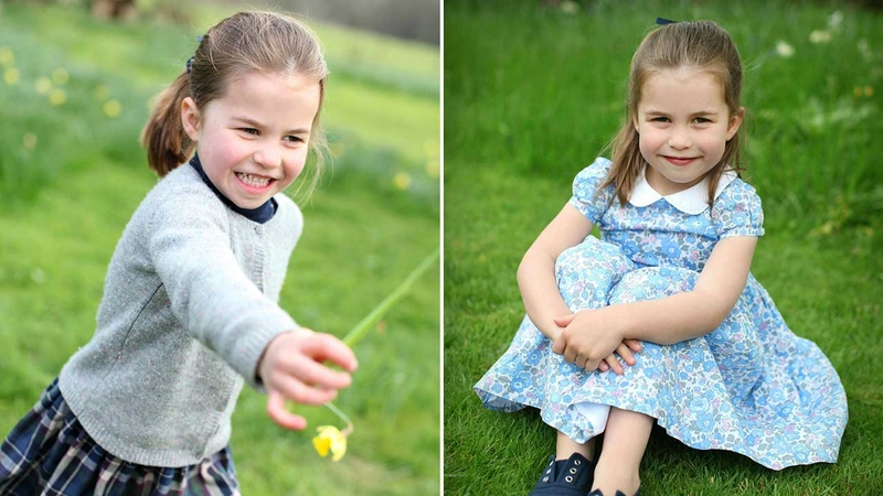 a2caf123f50a4 Happy Birthday, Princess Charlotte! Prince William, Duchess Kate share new  photos of 4-year-old daughter
