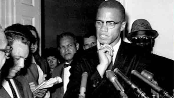 Malcolm X is seen in this undated file photo.