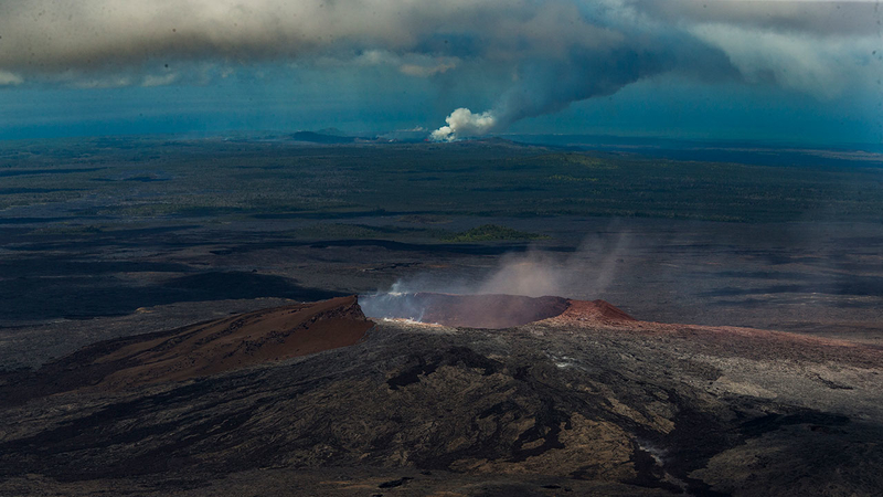 How Kilauea Eruption Hurricane Lane Flooding Changed Hawaiian