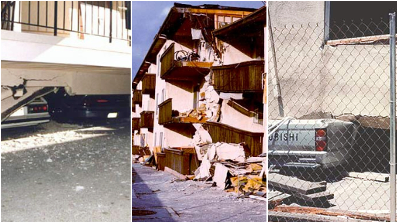 Examples of damage without a soft-story retrofit. Courtesy:  City of Los Angeles Department of Building & Safety