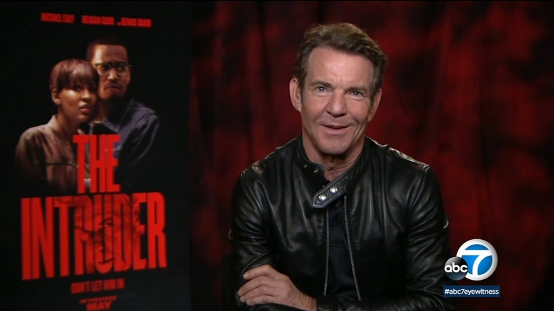 Dennis Quaid stalks homeowners Michael Ealy and Meagan Good in new thriller  'The Intruder'