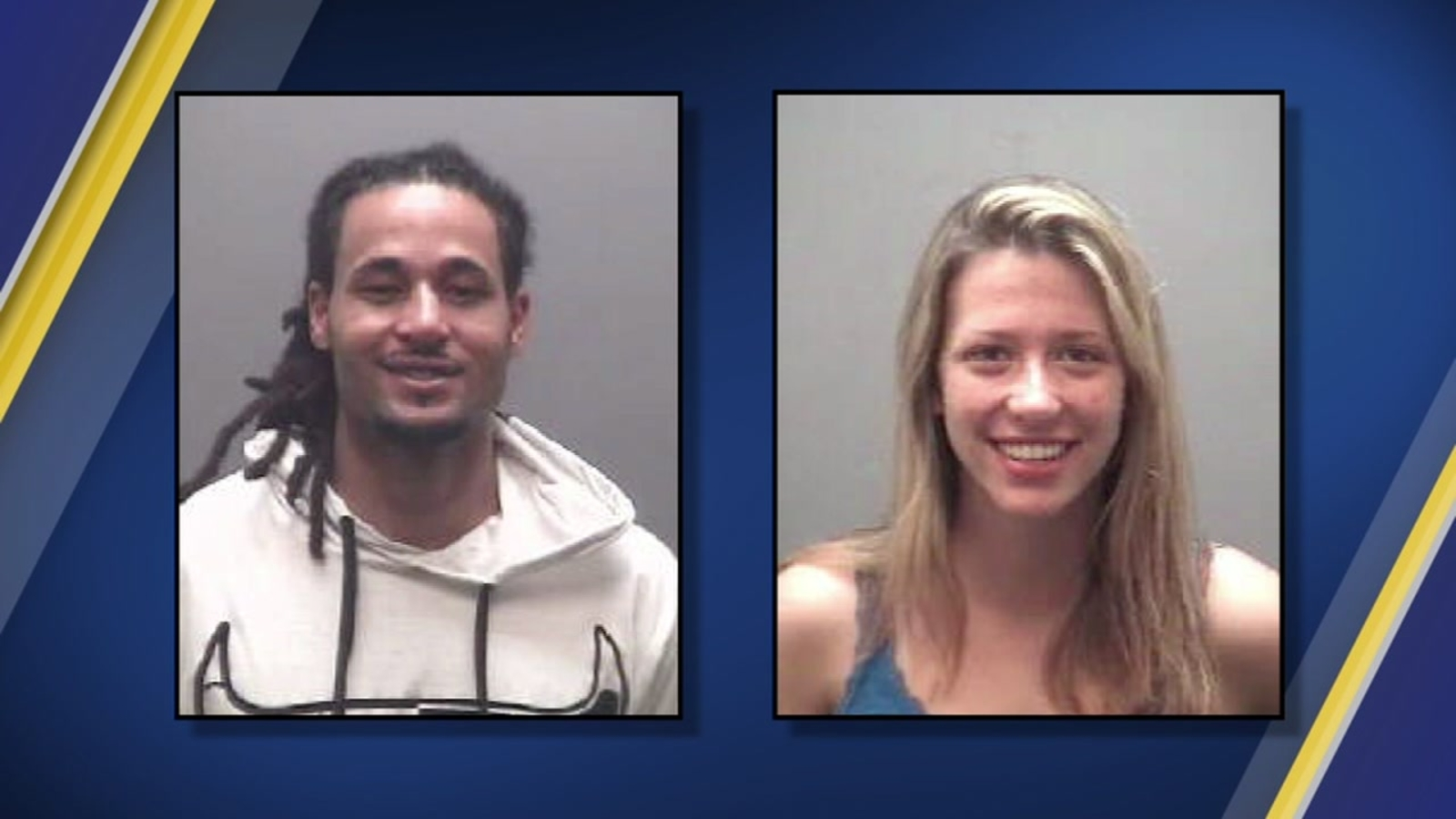 Alamance County Sheriff's Office is searching for two people wanted on  kidnapping charges