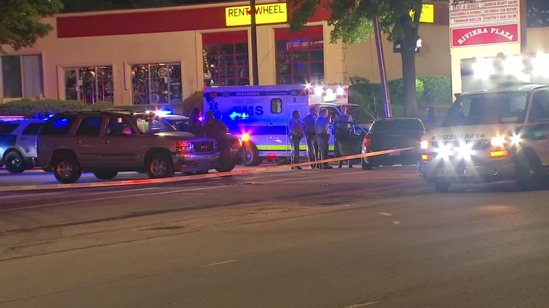 2 men shot outside Raleigh sweepstakes parlor