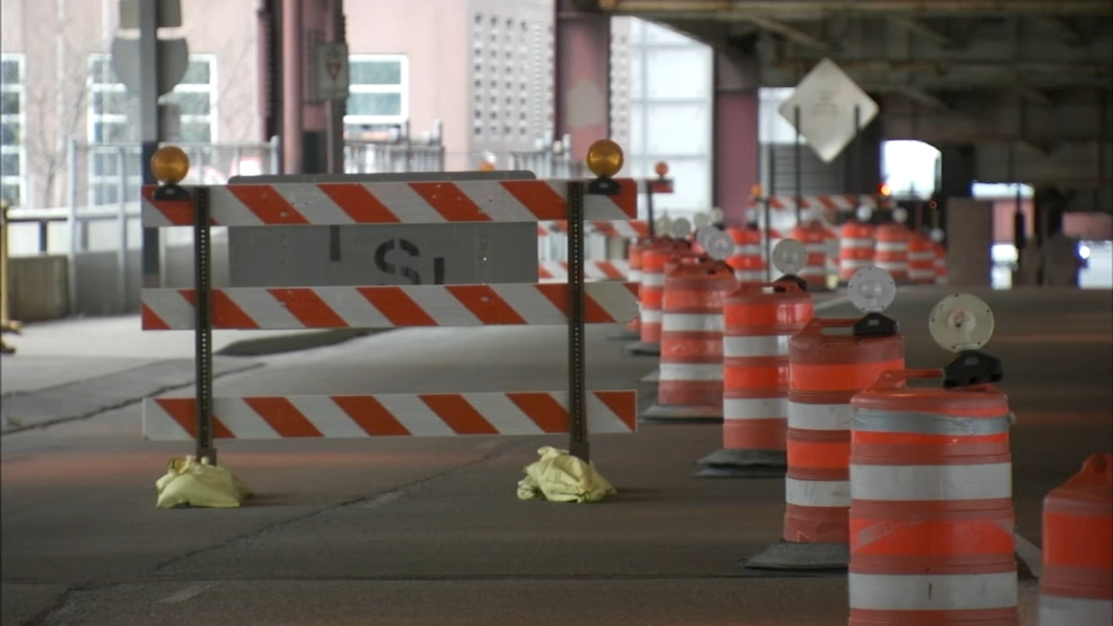 First set of lane closures begin on Lake Shore Drive Bridge