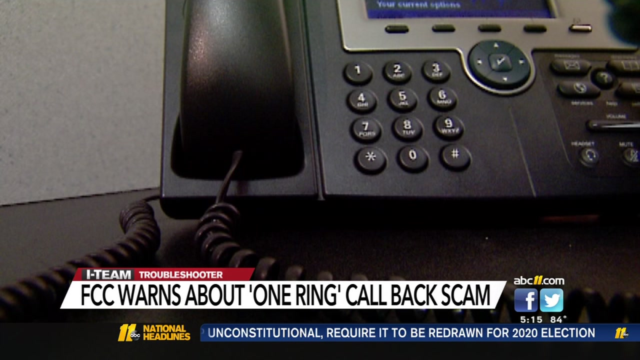 This 'one ring' robocall scam could cost you | abc11 com