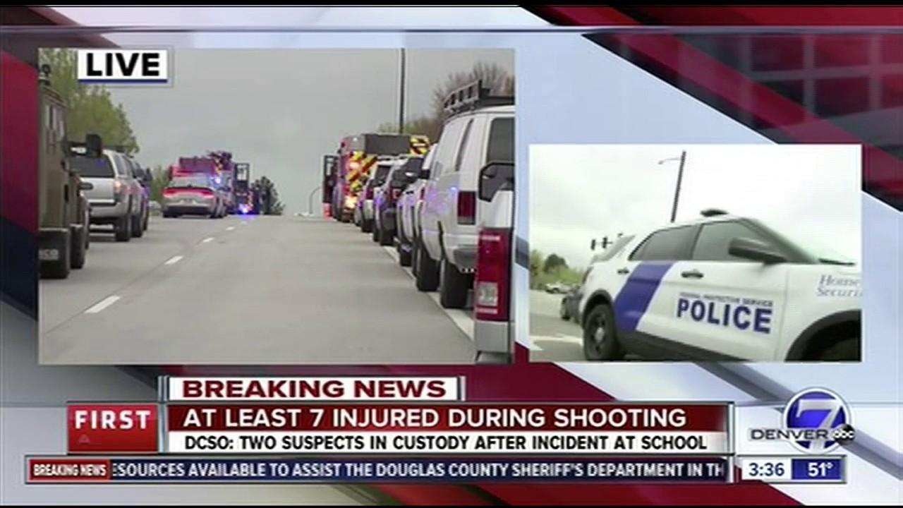 Colorado school shooting: 1 student killed, 8 injured in
