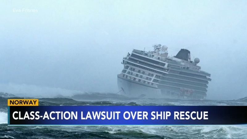 NJ couple files class-action lawsuit after nightmare cruise off Norway
