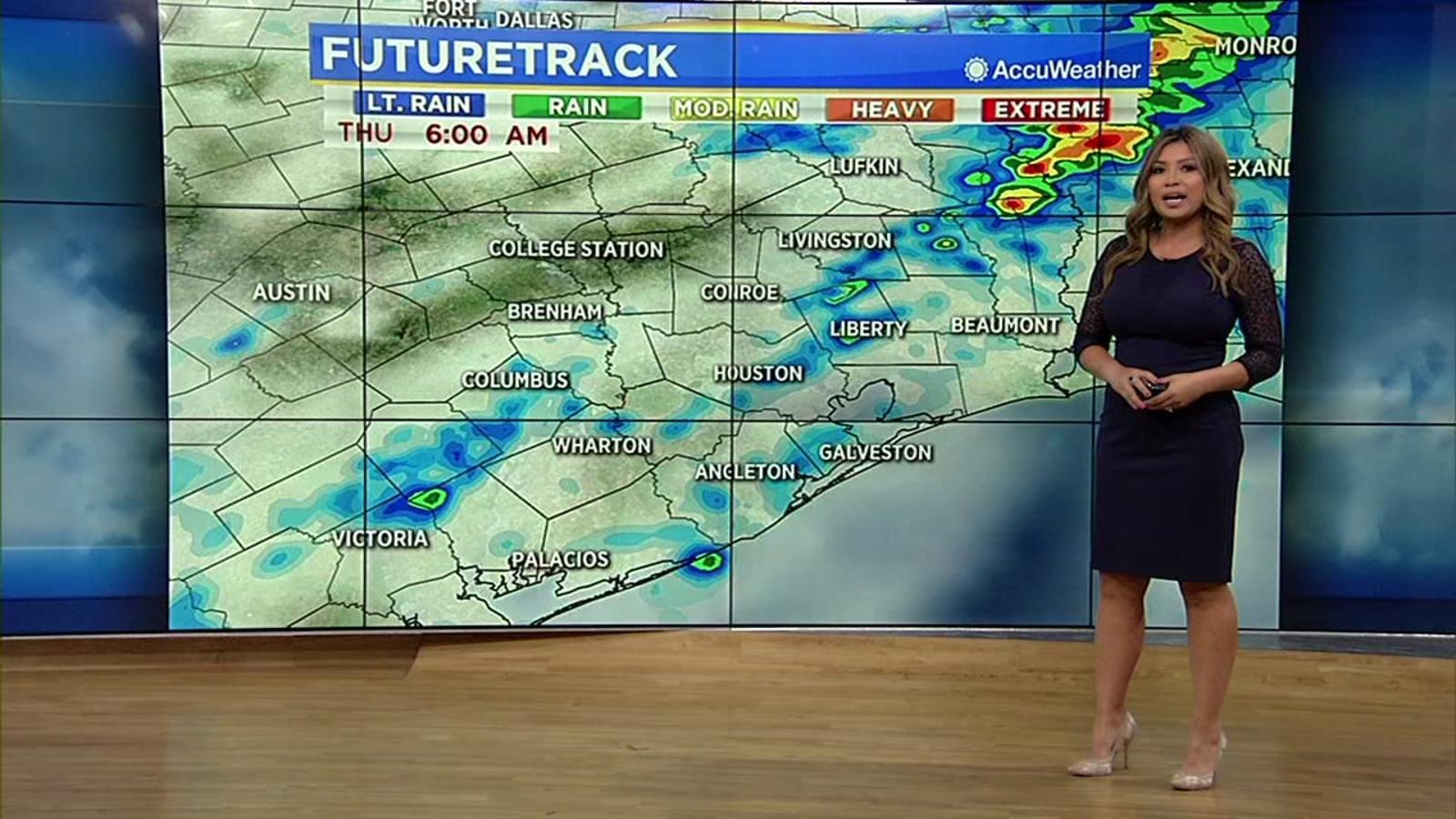 Houston Weather Tornado Watch To The North Until 11pm Ktrk Tv