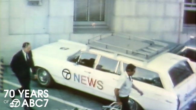 VIDEOS: ABC7 celebrates 70 years of local news in the Bay