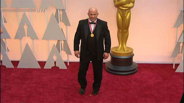"<div class=""meta image-caption""><div class=""origin-logo origin-image none""><span>none</span></div><span class=""caption-text"">Mark Schultz arrives on the red carpet for the 2015 Oscars. (Photo/ABC Owned Television Stations)</span></div>"