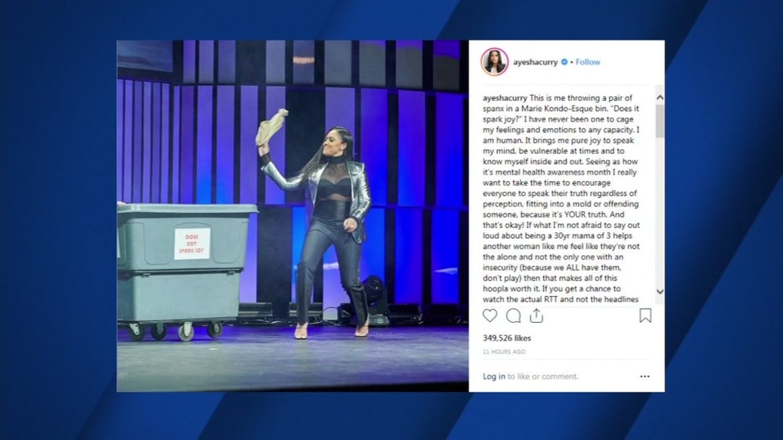 9b3eb315f21a Ayesha Curry responds to critics on social media on feeling  insecure