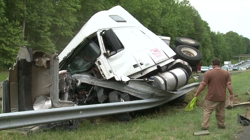 I-85 near Hillsborough reopens after tractor-trailer crash