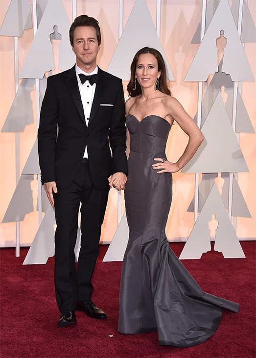 "<div class=""meta image-caption""><div class=""origin-logo origin-image none""><span>none</span></div><span class=""caption-text"">Edward Norton, left, and Shauna Robertson arrive. (AP Photo)</span></div>"