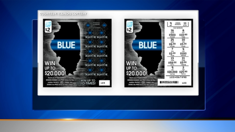 Illinois Lottery unveils inaugural Blue Police Memorial instant ticket