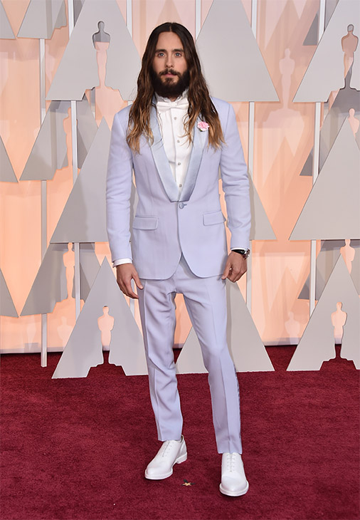 "<div class=""meta image-caption""><div class=""origin-logo origin-image none""><span>none</span></div><span class=""caption-text"">Jared Leto arrives. (AP Photo)</span></div>"
