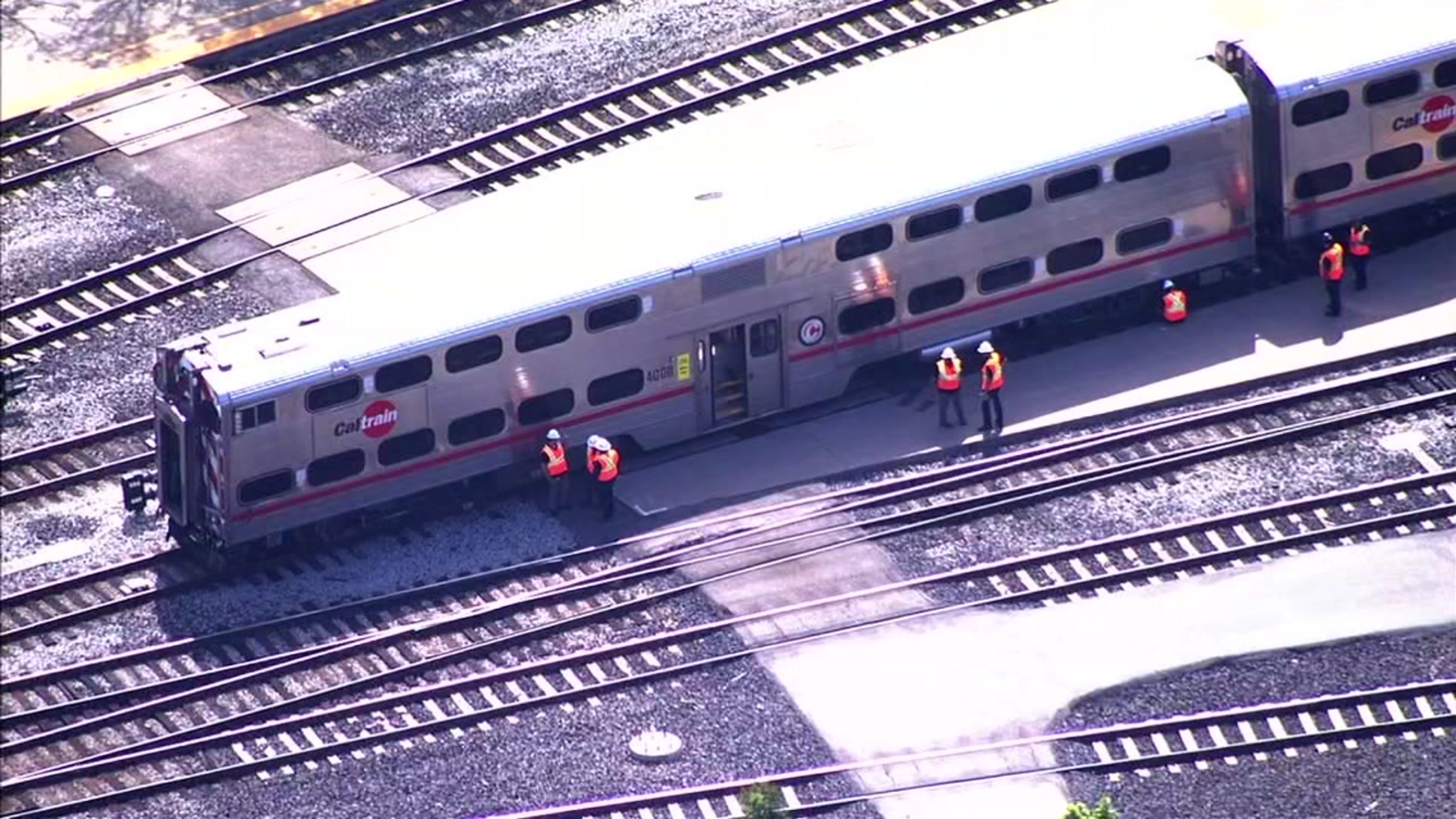 Caltrain derailment in San Jose may cause residual delays for evening commute