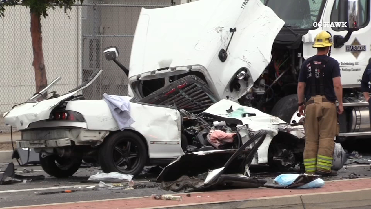 VIDEO: Dramatic surveillance footage shows head-on crash in