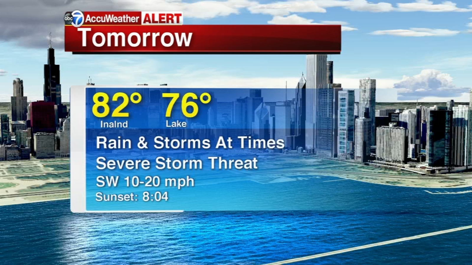Chicago Accuweather Very Warm Rain Possibility Of Severe Storms