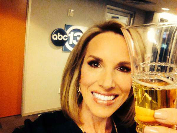 """<div class=""""meta image-caption""""><div class=""""origin-logo origin-image none""""><span>none</span></div><span class=""""caption-text"""">Ilona with her fake champagne to toast the Oscars (KTRK Photo)</span></div>"""