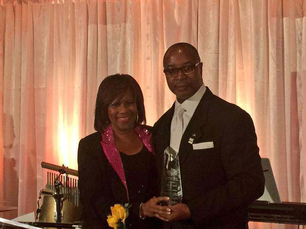 """<div class=""""meta image-caption""""><div class=""""origin-logo origin-image none""""><span>none</span></div><span class=""""caption-text"""">Our own Melanie Lawson was honored with an award from Houston Community College (KTRK Photo)</span></div>"""