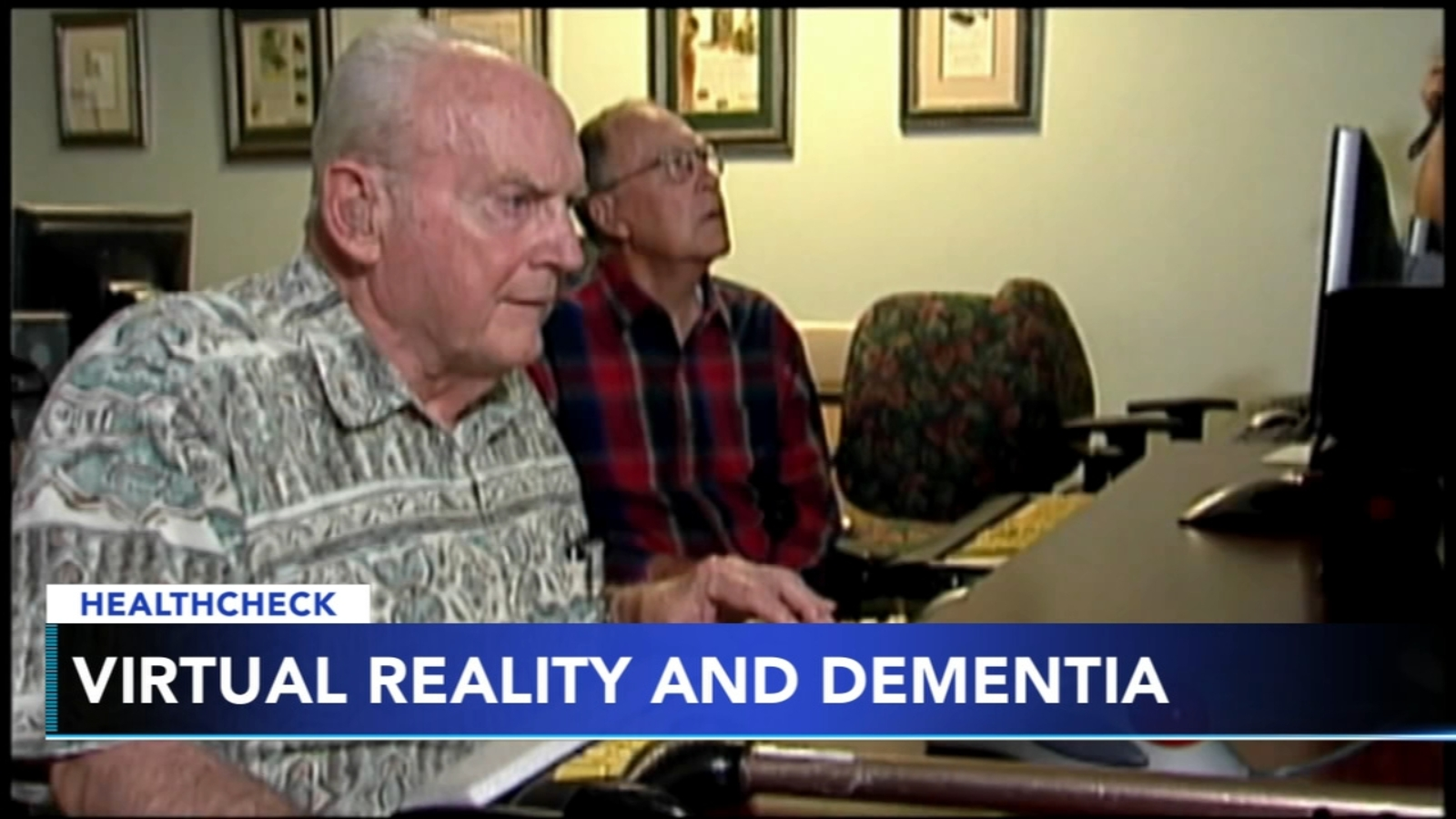 Virtual reality could help dementia patients, study says