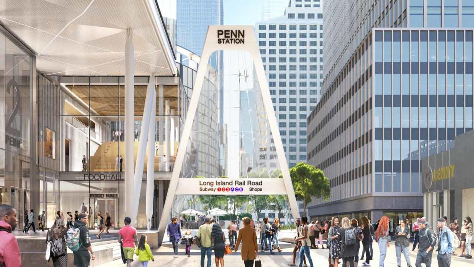 Penn Station makeover: New York Gov. Andrew Cuomo unveils new main entrance design