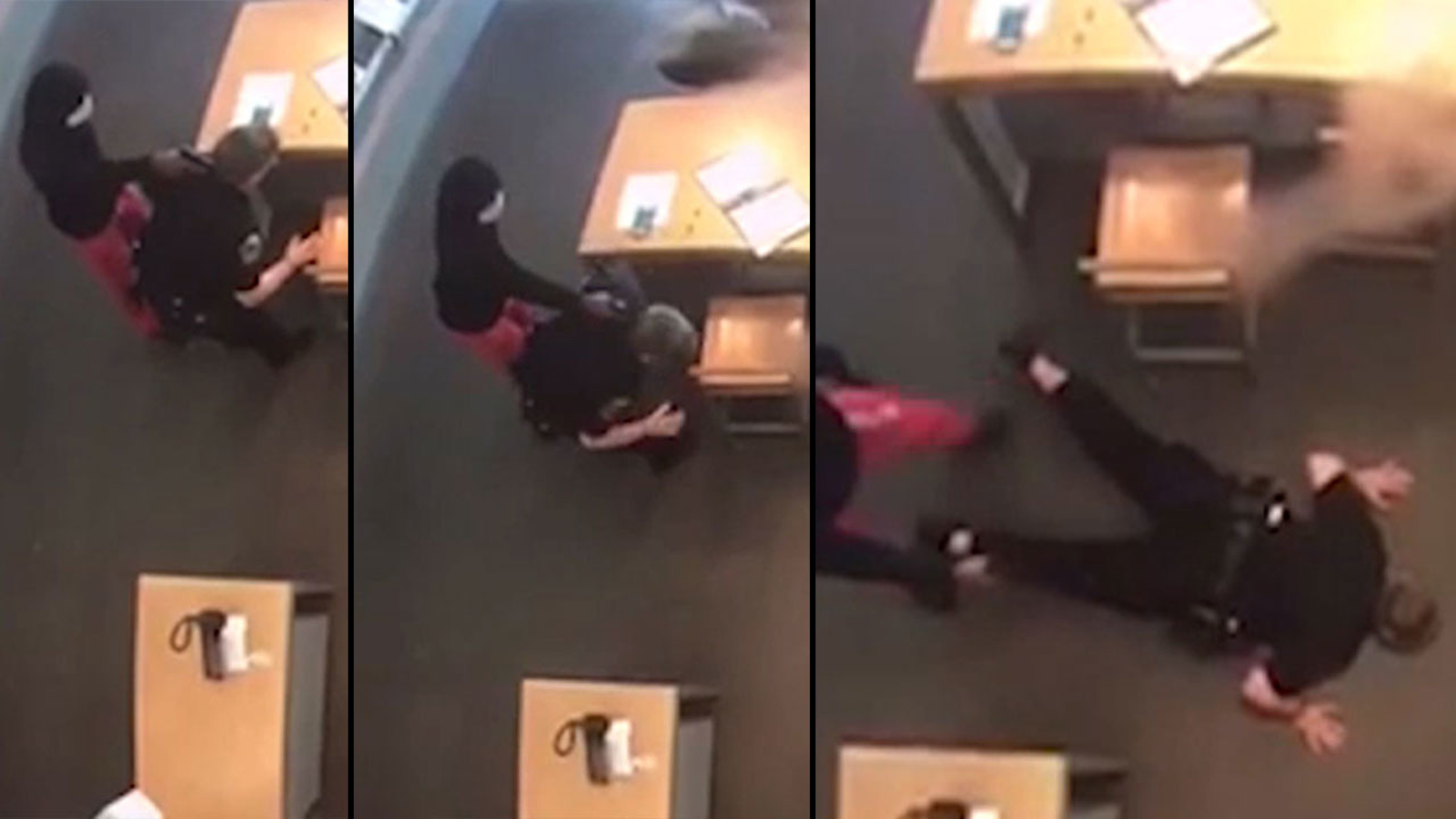 Image result for VIDEO: Robber disarms Houston police officer, holds her at gunpoint on her 1st day