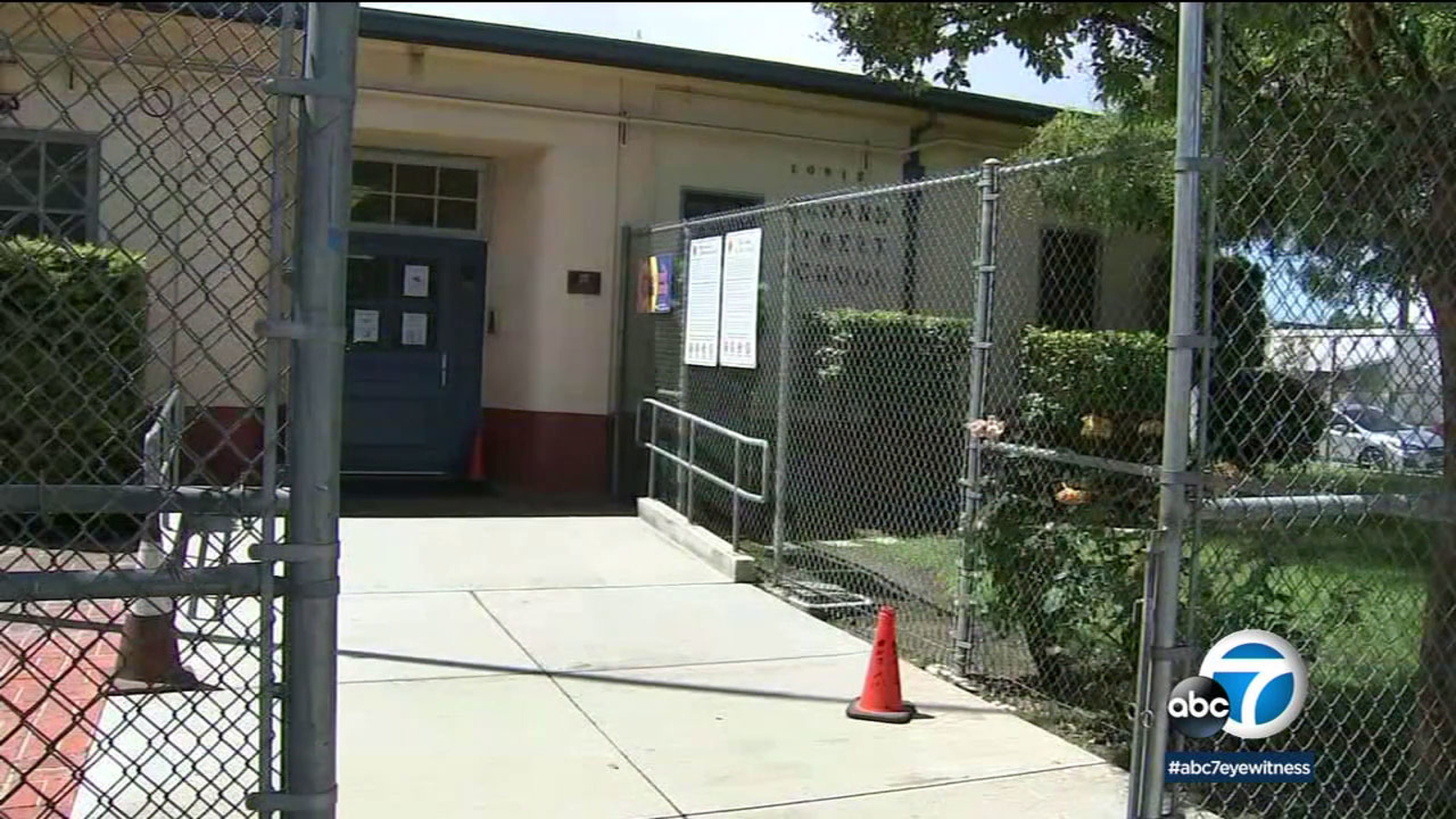 Sexual assault reported at elementary school in North Hollywood, prompting LAPD investigation