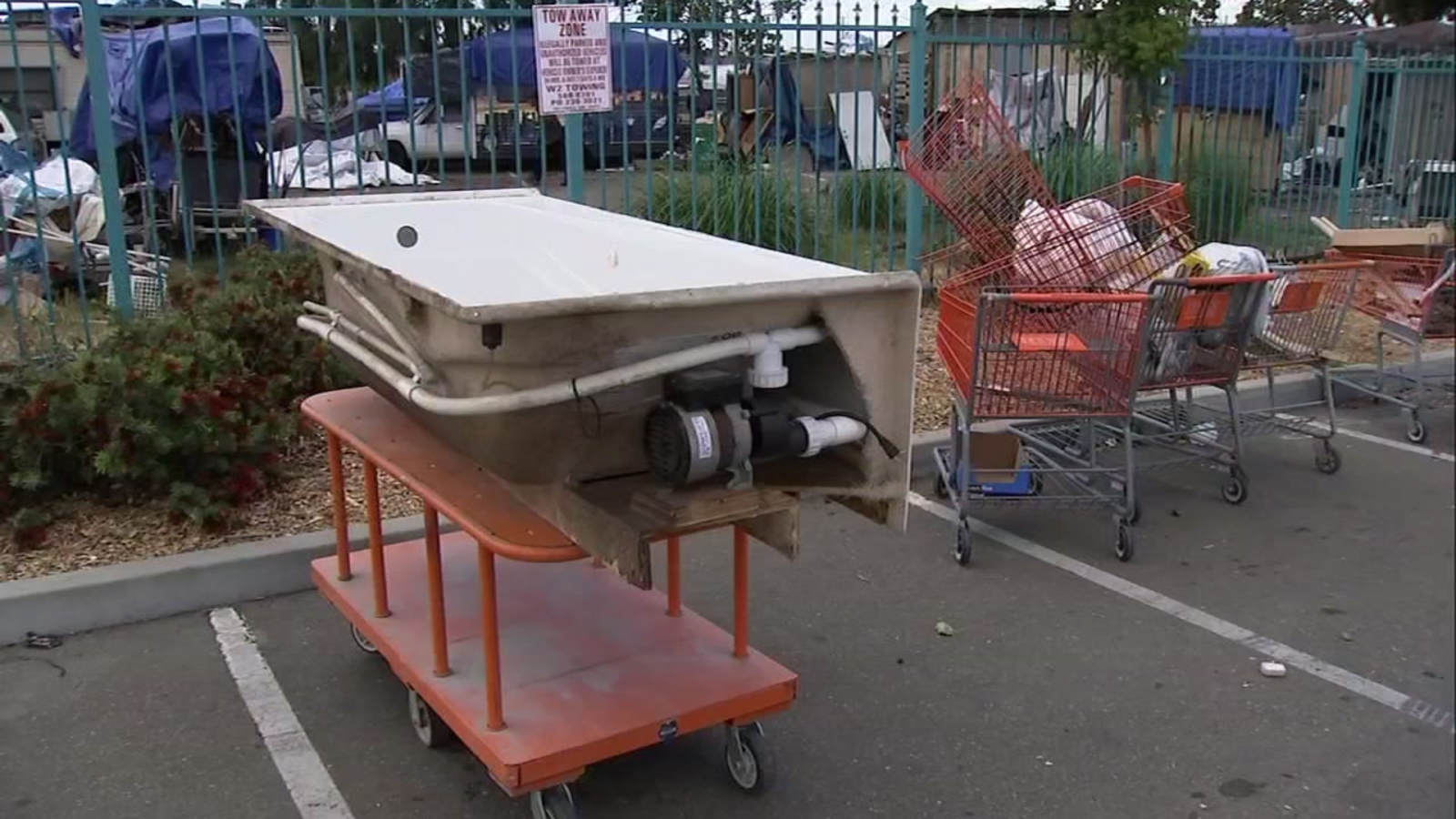 Oakland Home Depot fed up with homeless camp