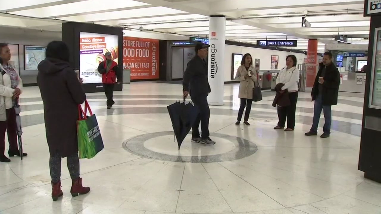Secret echo chamber drawing attention at San Francisco's Montgomery Street BART station
