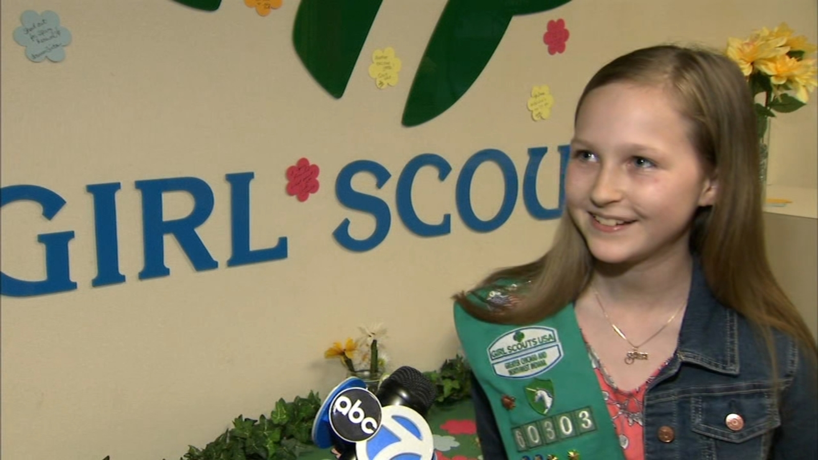 Girl, 11, sells Girl Scout cookies to send special needs school friend on Disney World trip