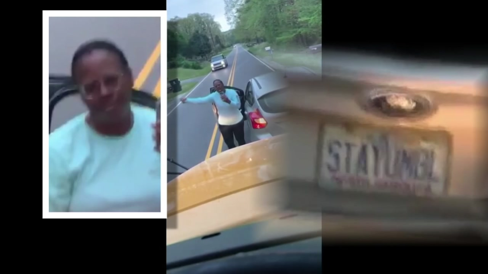 Driver known for STAYUMBL plate taken to jail, ordered to turn over driver's license