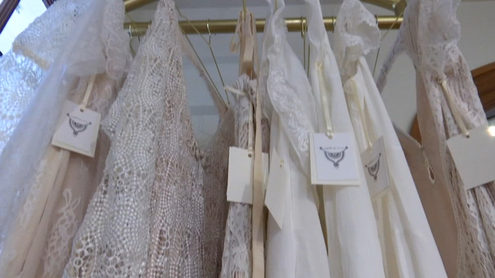 Wedding boutique in Fresno's Tower District give brides different gown options