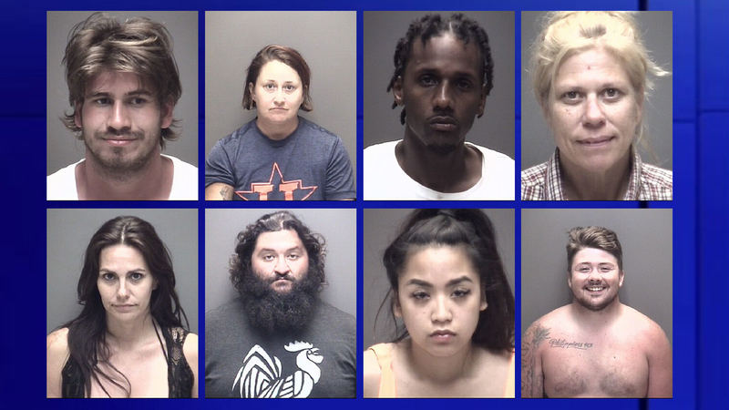 Mugshots: 114 arrested at 'Go Topless' Jeep Weekend