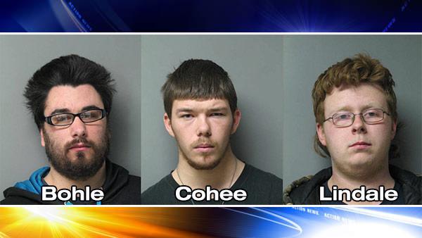 4 charged in 3-night Delaware vandalism spree